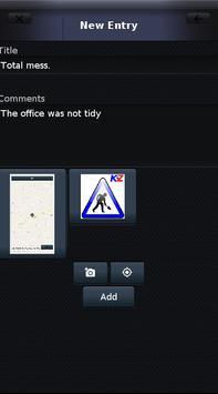 WorkLog screenshot 1