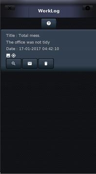 WorkLog screenshot 2