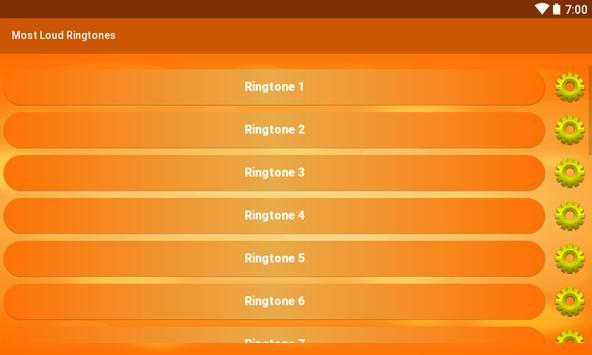 Most Loud Ringtones screenshot 5