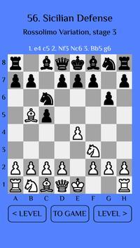 Chess Match: Sicilian defense screenshot 1