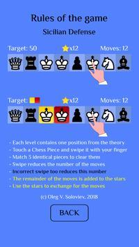 Chess Match: Sicilian defense screenshot 2