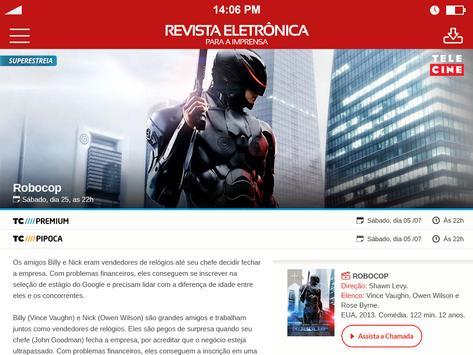 Revista Telecine apk screenshot