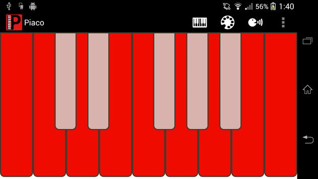 Piaco Piano Color Changeable poster
