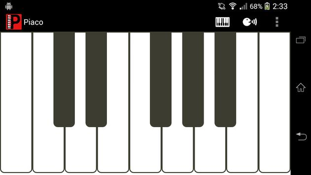 Piaco Piano Color Changeable screenshot 1