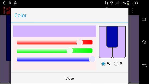 Piaco Piano Color Changeable screenshot 2