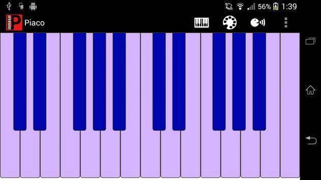 Piaco Piano Color Changeable screenshot 4