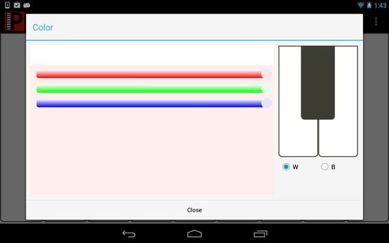 Piaco Piano Color Changeable screenshot 8