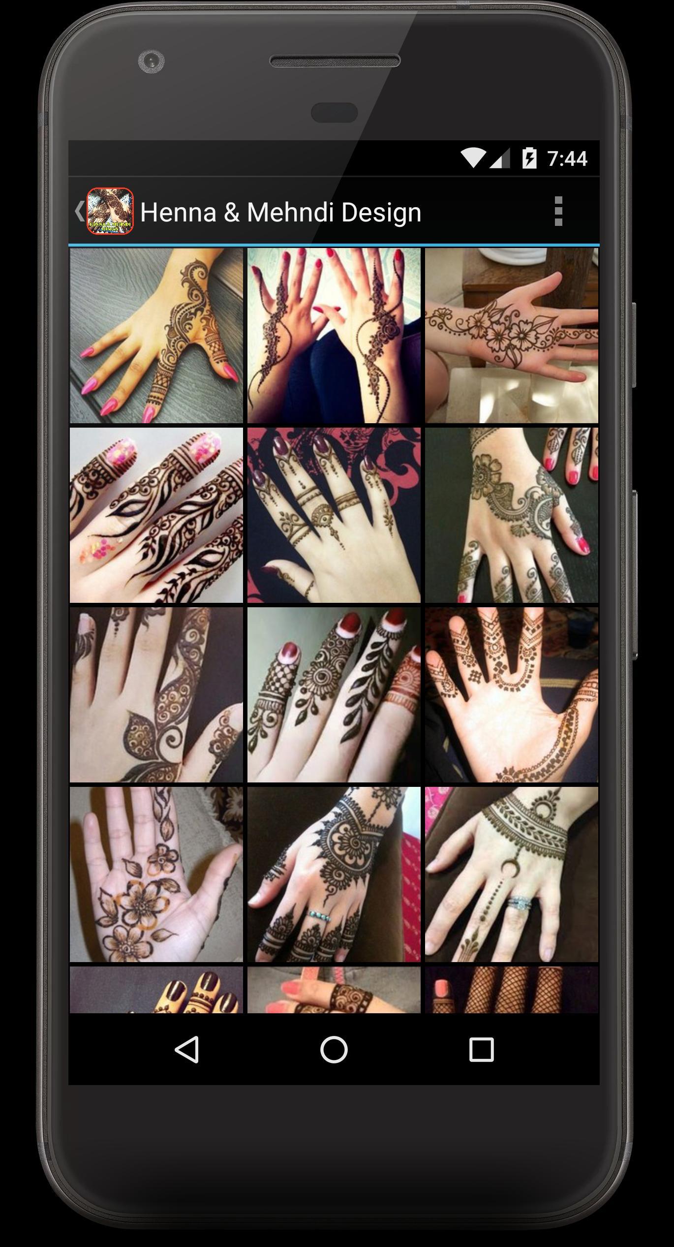 Download Henna And Mehndi Design Reborn