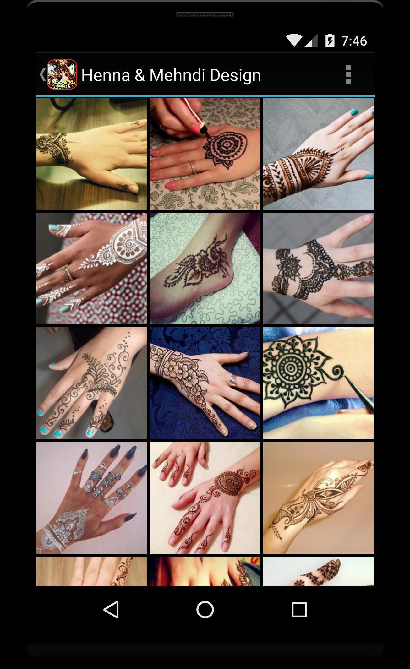 App android terbaik Henna And Mehndi Design Reborn