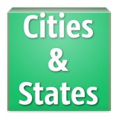 Cities and States Trivia icon