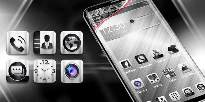 Luxury Metal Launcher screenshot 3