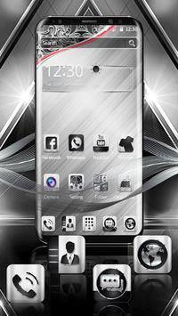 Luxury Metal Launcher apk screenshot