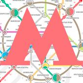 Метро Москвы icon
