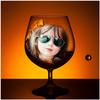Wine Glass Photo Frame icon