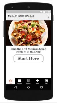 Mexican Salad Recipe poster