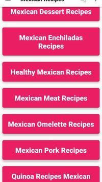 Mexican Food Recipes VIDEOS : New , Easy & Healthy apk screenshot