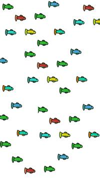 Fishes in the Ocean poster