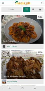 Meals.ph screenshot 1