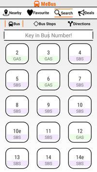 MeBus: SG Bus Information screenshot 5