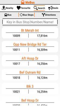 MeBus: SG Bus Information screenshot 6