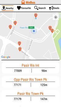 MeBus: SG Bus Information screenshot 1