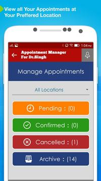 Appointment Manager: Doctors screenshot 1
