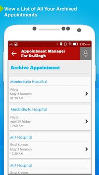 Appointment Manager: Doctors screenshot 2
