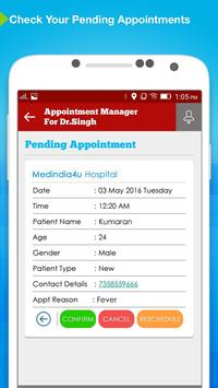 Appointment Manager: Doctors screenshot 3