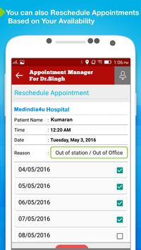 Appointment Manager: Doctors screenshot 4