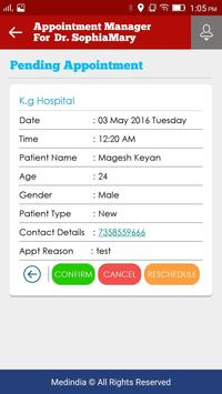 Appointment Manager: Doctors apk screenshot
