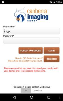 CIG Patient Access apk screenshot