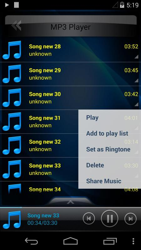 Mp3 Player - Music Player APK Download For Android - blogger.comlayer
