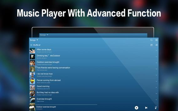 音楽 - MP3プレーヤー apk スクリーンショット