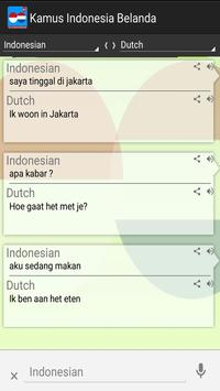 Kamus Indonesia Belanda Pro apk screenshot