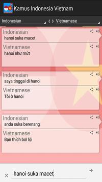 Kamus Indonesia Vietnam Pro screenshot 1