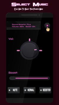 Amplificador de sonido Poster