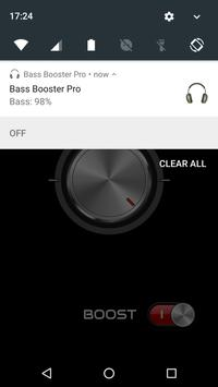 Bass Booster Pro apk screenshot