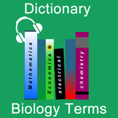 Biology Terms Dictionary icon