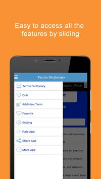 Geology Terms Dictionary apk screenshot