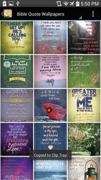 Bible Quotes: Inspiring  Verses from the Bible apk screenshot