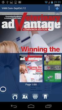 Vet-Advantage Magazine poster