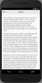 Recognize Guillain-Barre Syndrome apk screenshot