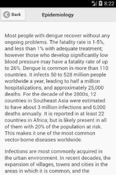 Recognize Dengue Fever Disease poster