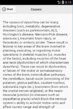 Recognize Dysarthria Disease poster