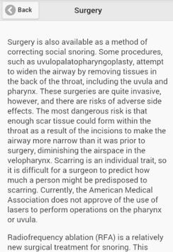 Recognize Snoring Disease apk screenshot