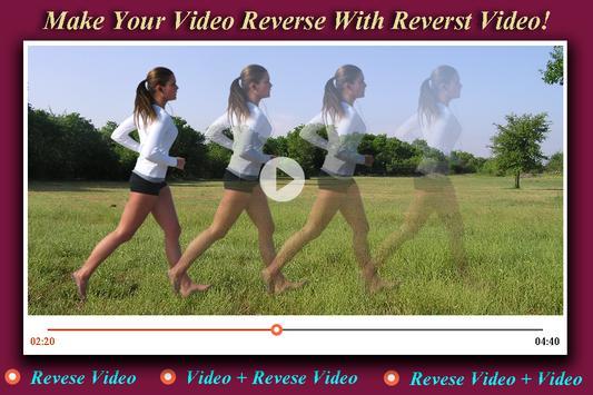 Reverse Video apk screenshot