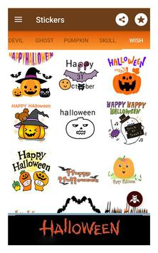 Happy halloween gif stickers sms and wallpapers screenshot 16