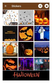 Happy halloween gif stickers sms and wallpapers screenshot 19