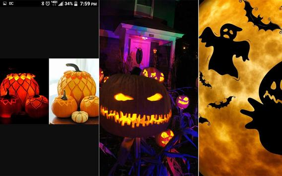 Happy halloween gif stickers sms and wallpapers screenshot 10
