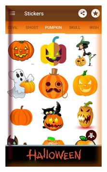 Happy halloween gif stickers sms and wallpapers screenshot 1